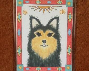 Bookmark Dog - Dog Bookmark - Rescue Dog Bookmark