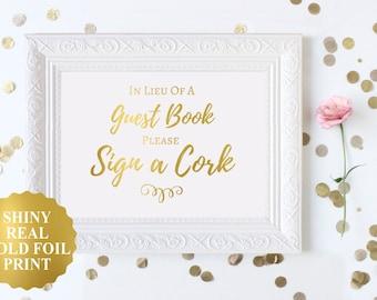 Wedding Cork Sign, Wine Cork Wedding Decor, Please Sign A Cork, Wedding Guest Book, Cork Guest Book Alternative, Wedding Wine Cork Guestbook