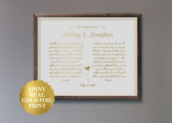 Wedding Vow Art - Wedding Photography