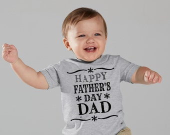 Happy Father's Day Dad bodysuit infant bodysuit T-shirt