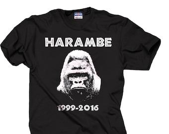 Harambe Gorilla T-shirt RIP Harambe T-shirt