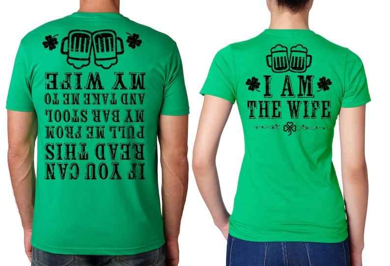 5640ecbc St Patrick's Day Funny Matching T-shirt St Patricks Day | Etsy