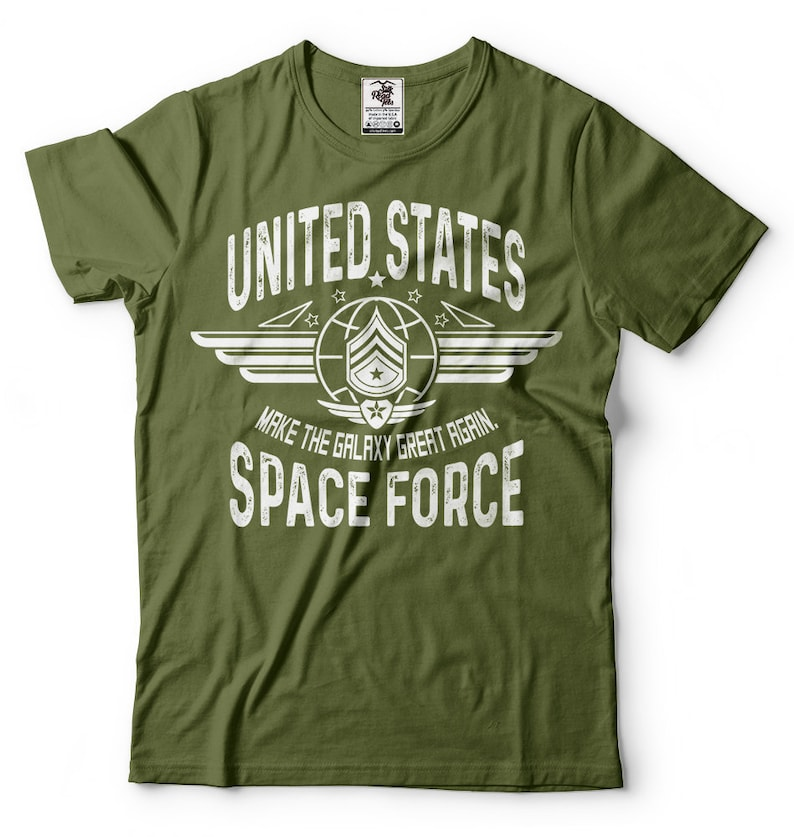 b2c6729b Trump Space Force T shirt Make The Galaxy Great Again Funny T | Etsy
