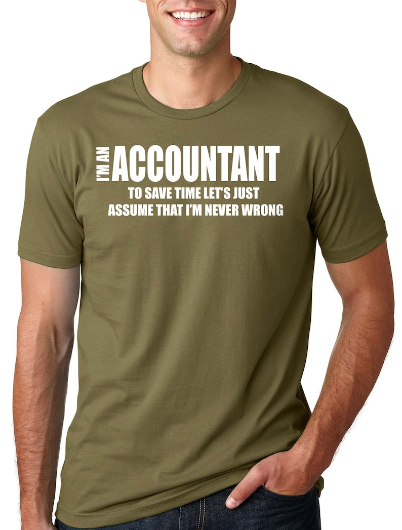 dbd42212b Funny Accountant T-Shirt Account Manager Shirt Gift For   Etsy