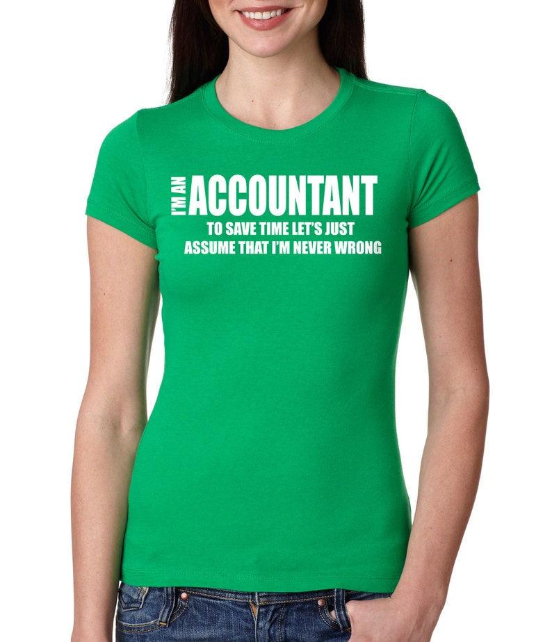 7cabdc29 Accountant T-shirt Funny CPA T-shirt Gift For Accountant | Etsy