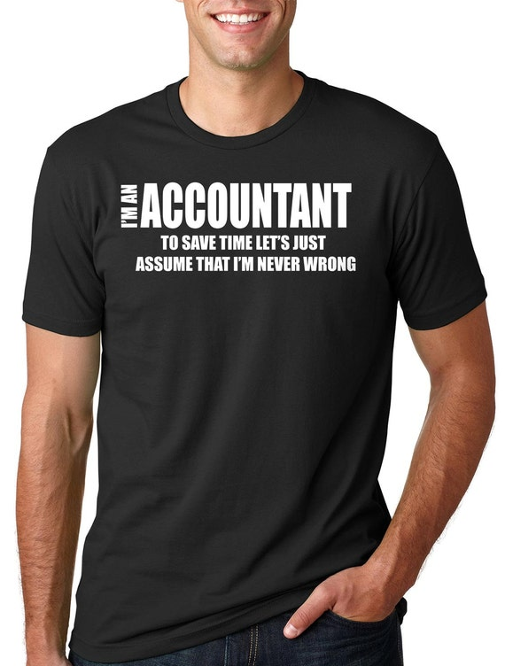 caad43dbe Funny Accountant T-Shirt Account Manager Shirt Gift For | Etsy