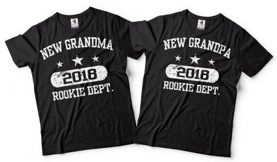 Grandma Grandpa T Shirts Couple Matching Grandparents