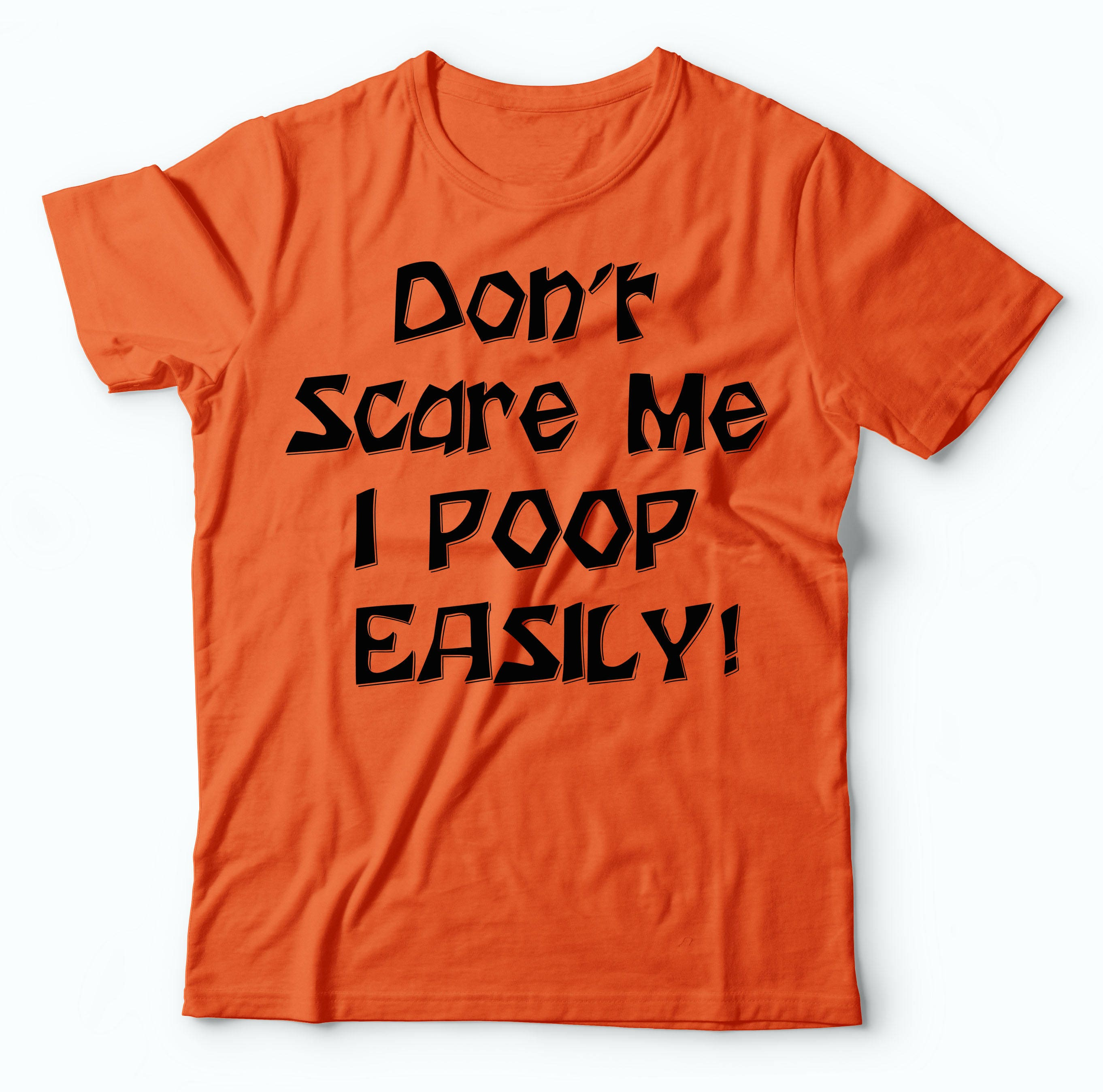 d9033f242 Halloween Orange T-Shirt Funny Halloween Costume Party Tee | Etsy