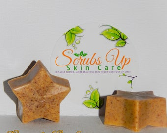 Mini Lemon & Eucalyptus Scrub Soaps
