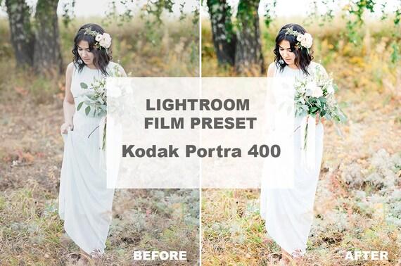 Items similar to Lightroom Preset Kodak Portra 400, Film Presets For
