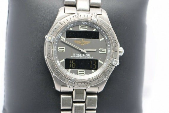 Breitling Aerospace Watch Model E65062, For Parts