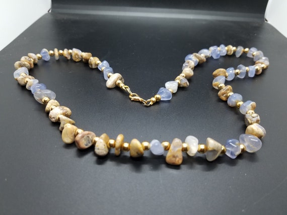 Chalcedony and Gold