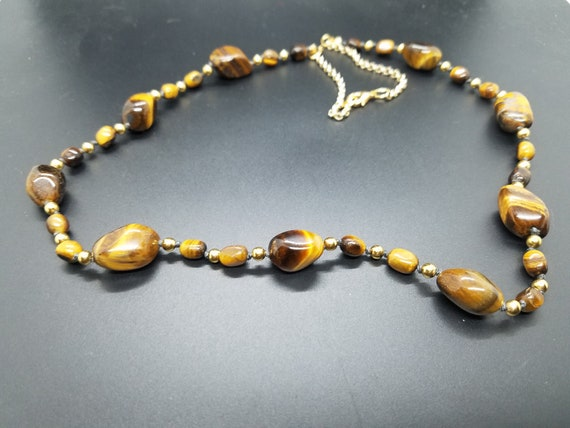 Tiger Eye Nuggets and Gold