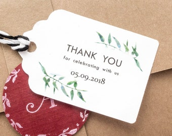 Personalized Wedding Favor Tags | Wedding Favor Tags Etsy