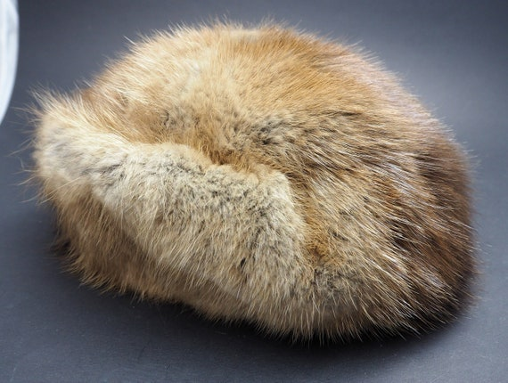 Vintage Pierre Balmain Paris Fur hat 1960's