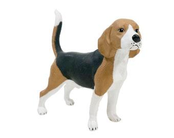 Beagle Urn - Metallic, Glazed or Personalized