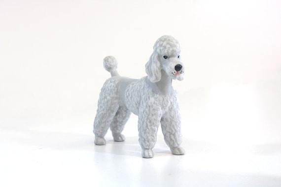 Poodle Urn Metallic Glazed Or Personalized