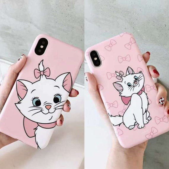 Cute Marie Cat Iphone 6 6s 7 8 X Xs Xr Max Plus Phone Case