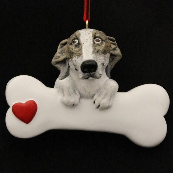 image 0 - Greyhound Personalized Christmas Ornament Greyhound Etsy