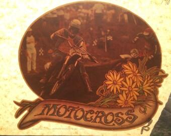 Motocross Vintage 1975 Iron On Heat Transfer