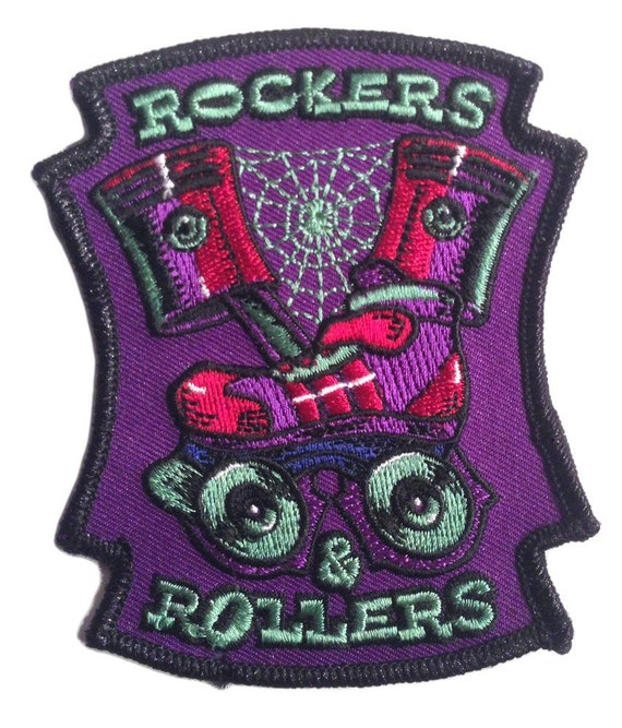 Rockers and Rollers Patch