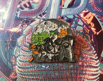 bcc32c70538 Tipper   Friends Hat Pin - Nocturnal Edition Inspired
