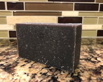 Activated Charcoal Soap Bar - African Black Soap Bar - Tea Tree, Shea Butter Soap - Facial Soap Bar - All Natural, Handmade, Vegan Soap