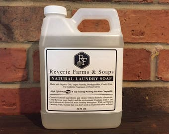 All Natural Laundry Soap - 32oz