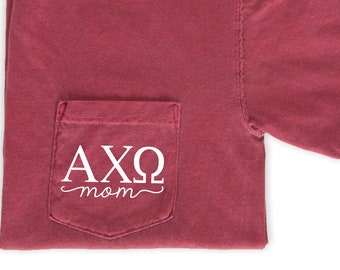 916c34194 Alpha Chi Omega Mom Shirt