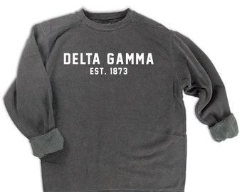 Delta Gamma Est. 1873 Sweatshirt
