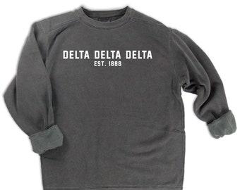 Delta Delta Delta Sweatshirt