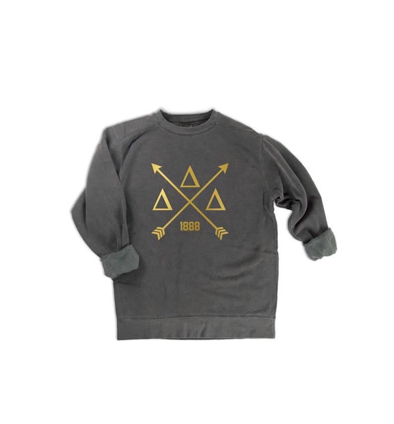 Delta Delta Delta Cross Sweatshirt