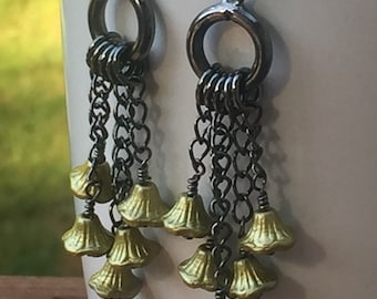 Bell Flower Earrings