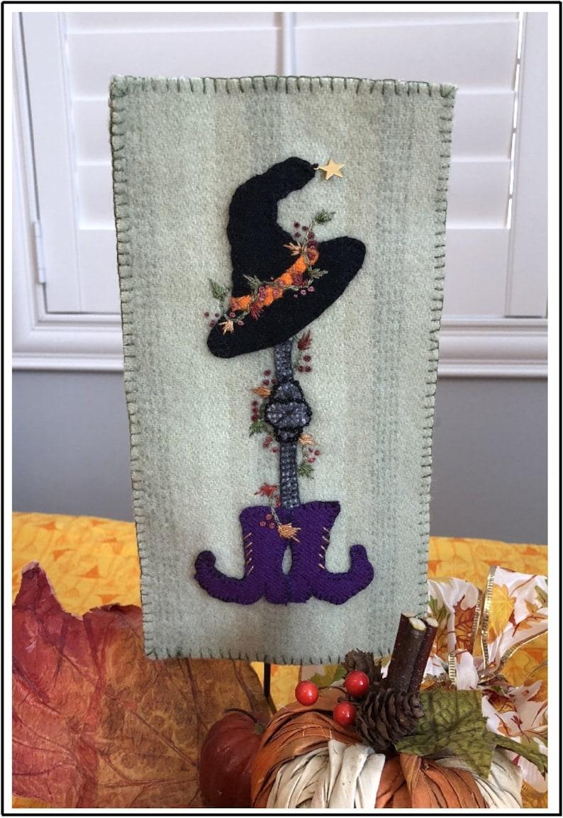 Halloween Dress Up Wool Applique Kit image 0