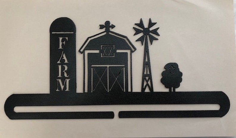 Down on the Farm 12 Metal Craft Holder image 0