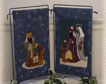 the Wise Men Punch Needle Pattern, Digital Download