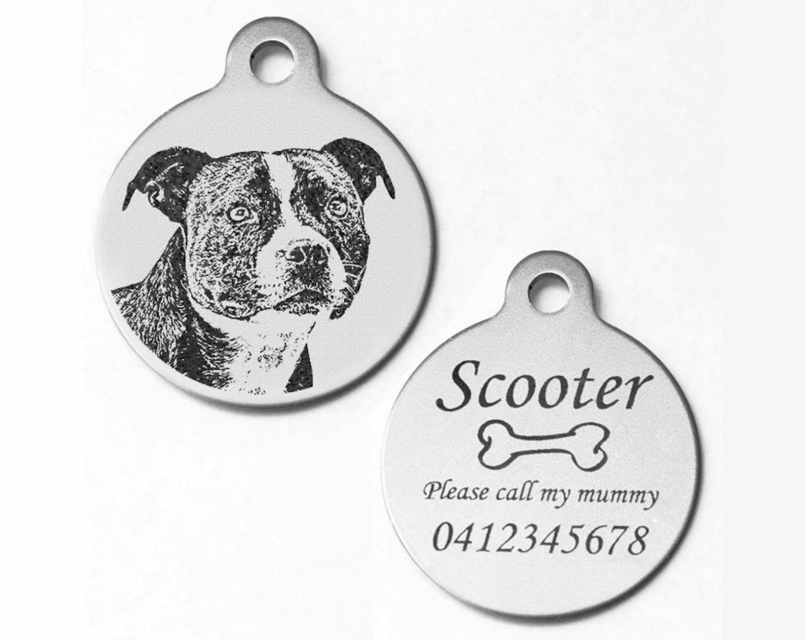 Dog breed tag