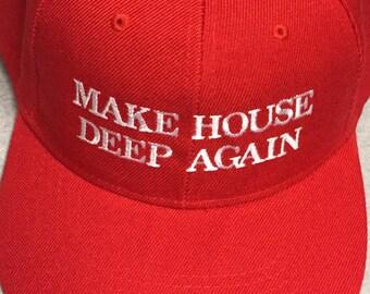 178f3803a85f2 Make House Deep Again TECHNO Dance Music Club Hat