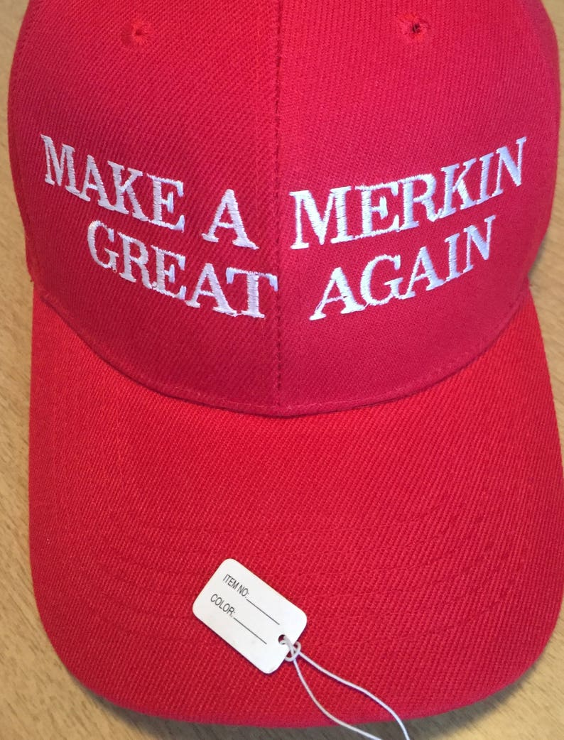 702b7be03d5 Make A Merkin Great Again Trump Parody MAGA SPINOFF Hat