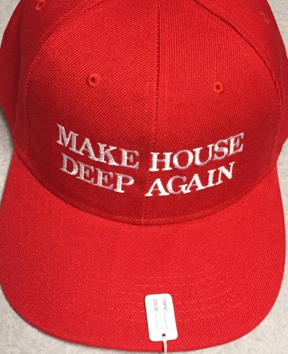 Make House Deep Again TECHNO Dance Music Club Hat
