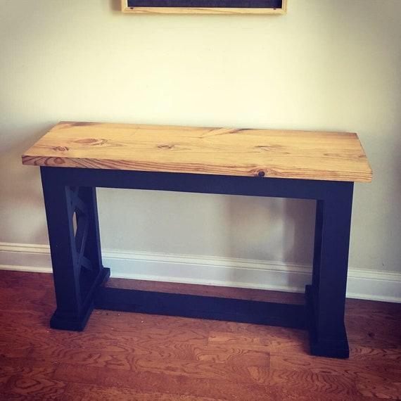 Pleasant Rustic Entry Table Lamtechconsult Wood Chair Design Ideas Lamtechconsultcom