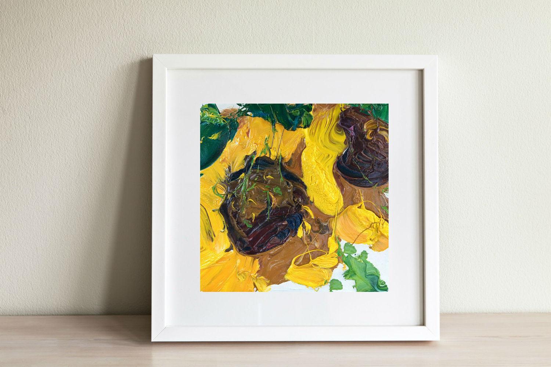 Sonnenblumen Gemälde Haus Küche Dekor italienische Sonnenblume | Etsy