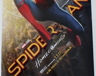 Spiderman Homecoming movie poster 11 x 17 inches - Spiderman poster b