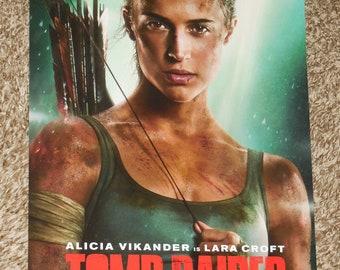 Tomb Raider Poster Etsy