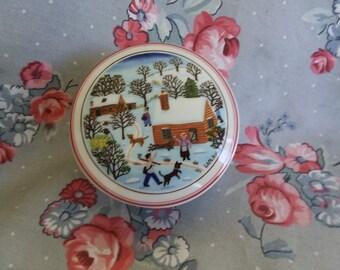 Vintage Villeroy And Boch Porcelain Box