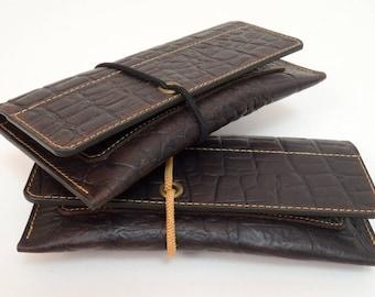 Tobacco Bag Leather Tobacco Bag Tobacco Case, Tobacco Pouch Case Leather, Tobacco Leather Bag Phone Bag Brown, Handmade Monti Leather Design