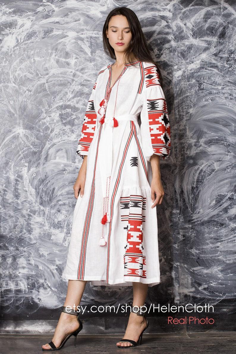 c744aced17a Ukrainian dress Vyshyvanka Dress National Ukrainian Clothing