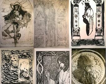 Tolkien: Printmaking