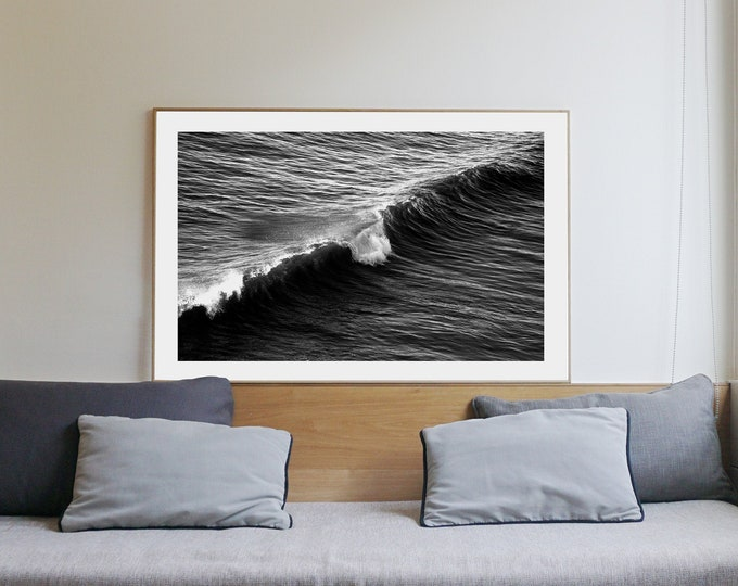 B&W / Long Wave in Venice Beach / Limited Edition