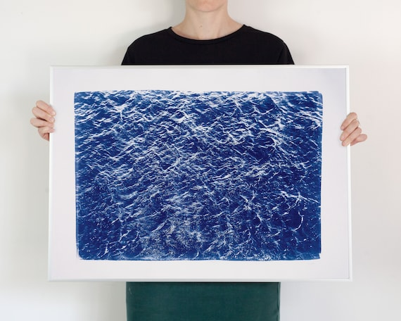 Wave Texture Seascape / 50x70 cm / Limited Edition
